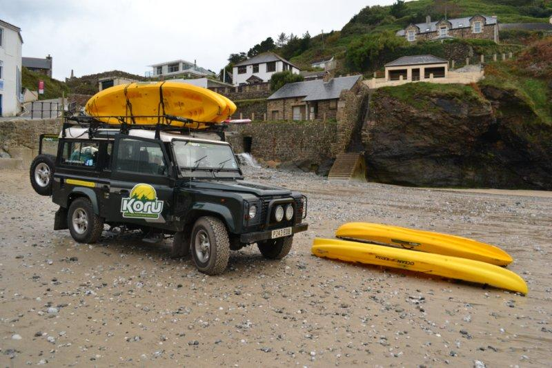 Demerlza, St Agnes, Poldark Landrover Boats St Agnes