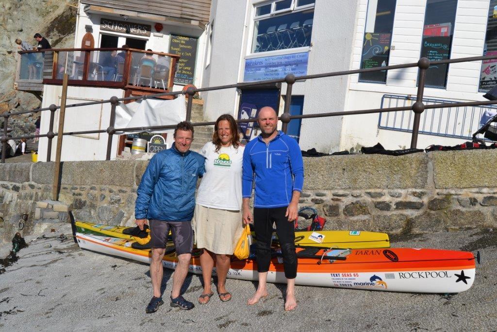 Koru meets Nick and Lee who are kayaking around UK for charity