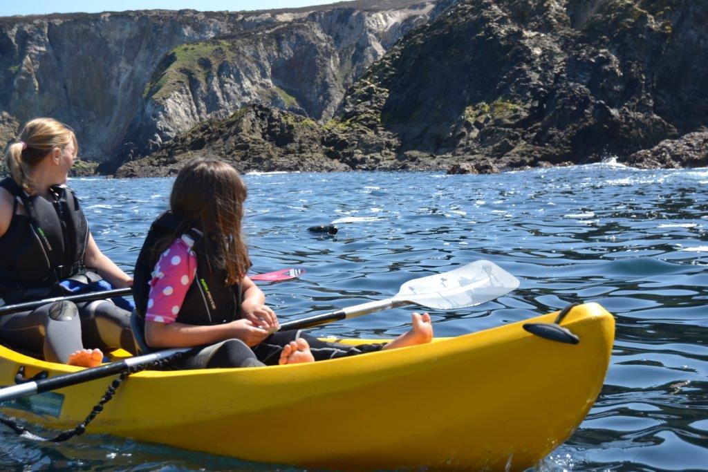 Great family kayaking with Koru over Bank Holiday