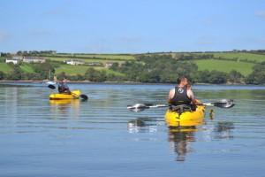 Family Kayak Helford