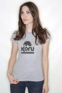 womens koru tshirt