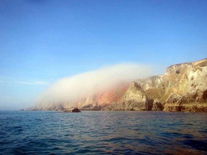 Cligga Head, Hanover Cove, St Agnes Coastline, Cornwall