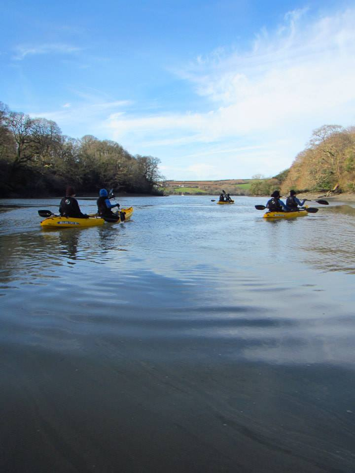 We have started Kayaking in Cornwall