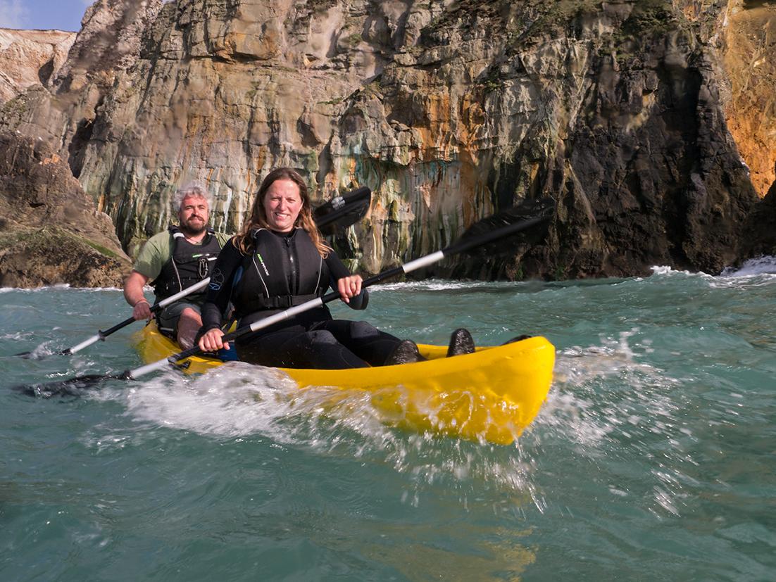 Tom Paxton, Koru Kayaking, Hanover Cove, St Agnes