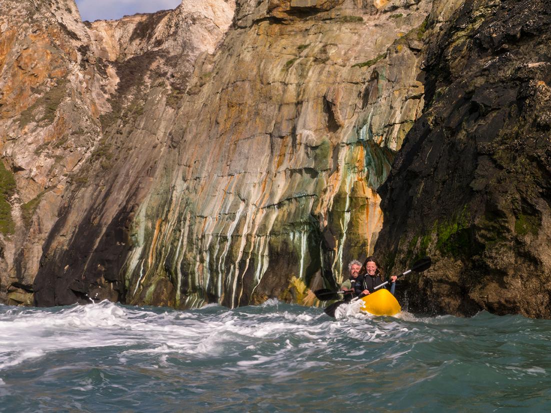 Koru Kayaking, St Agnes, Tom Paxton