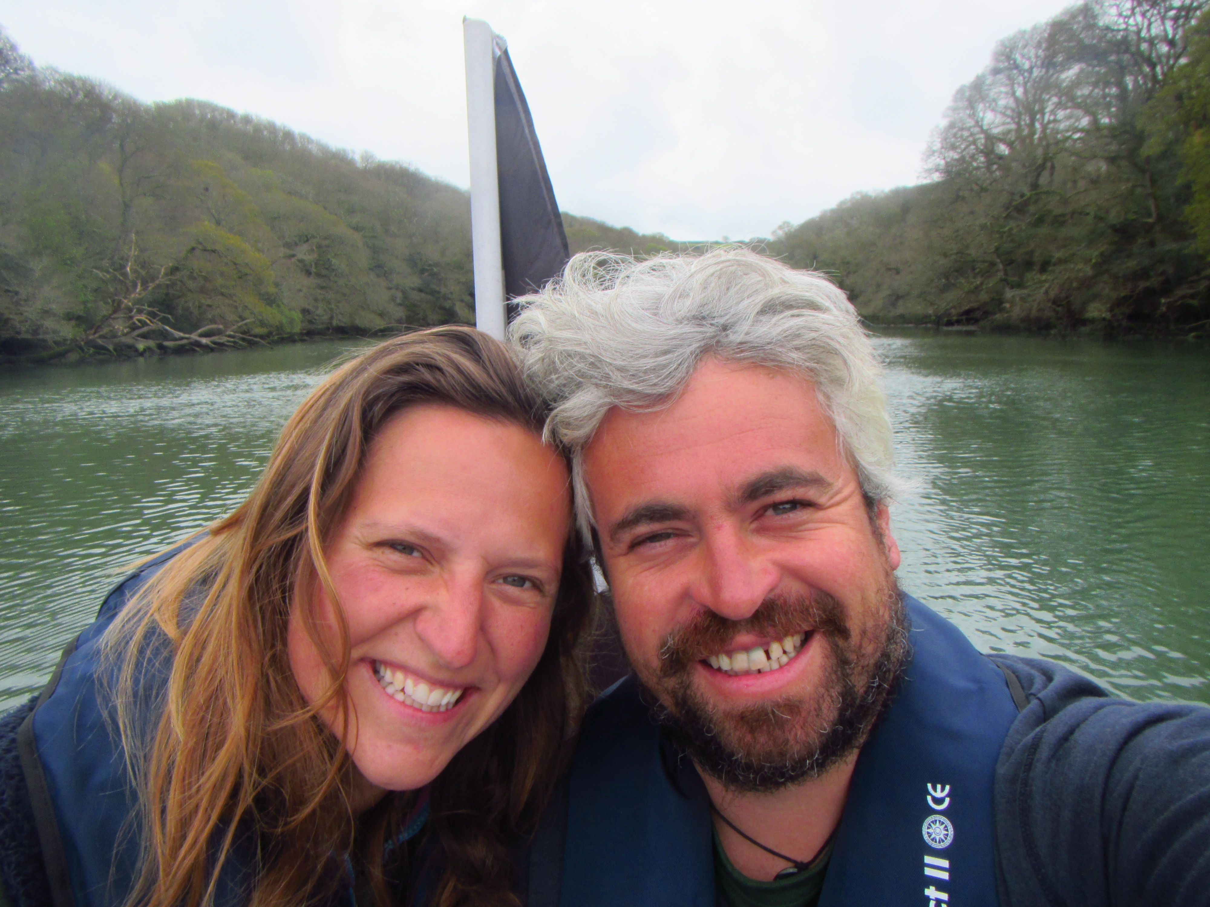 Tom and Hetty, Koru Kayaking take over Helford River Cruises
