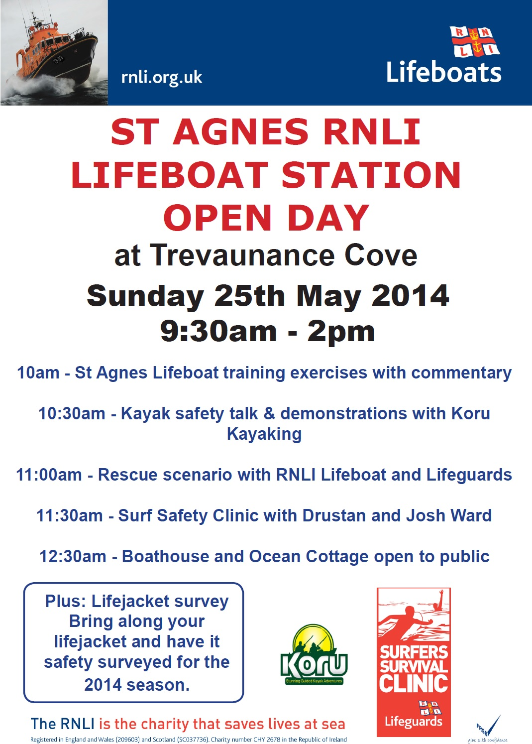 RNLI Lifeboat Station Open Day