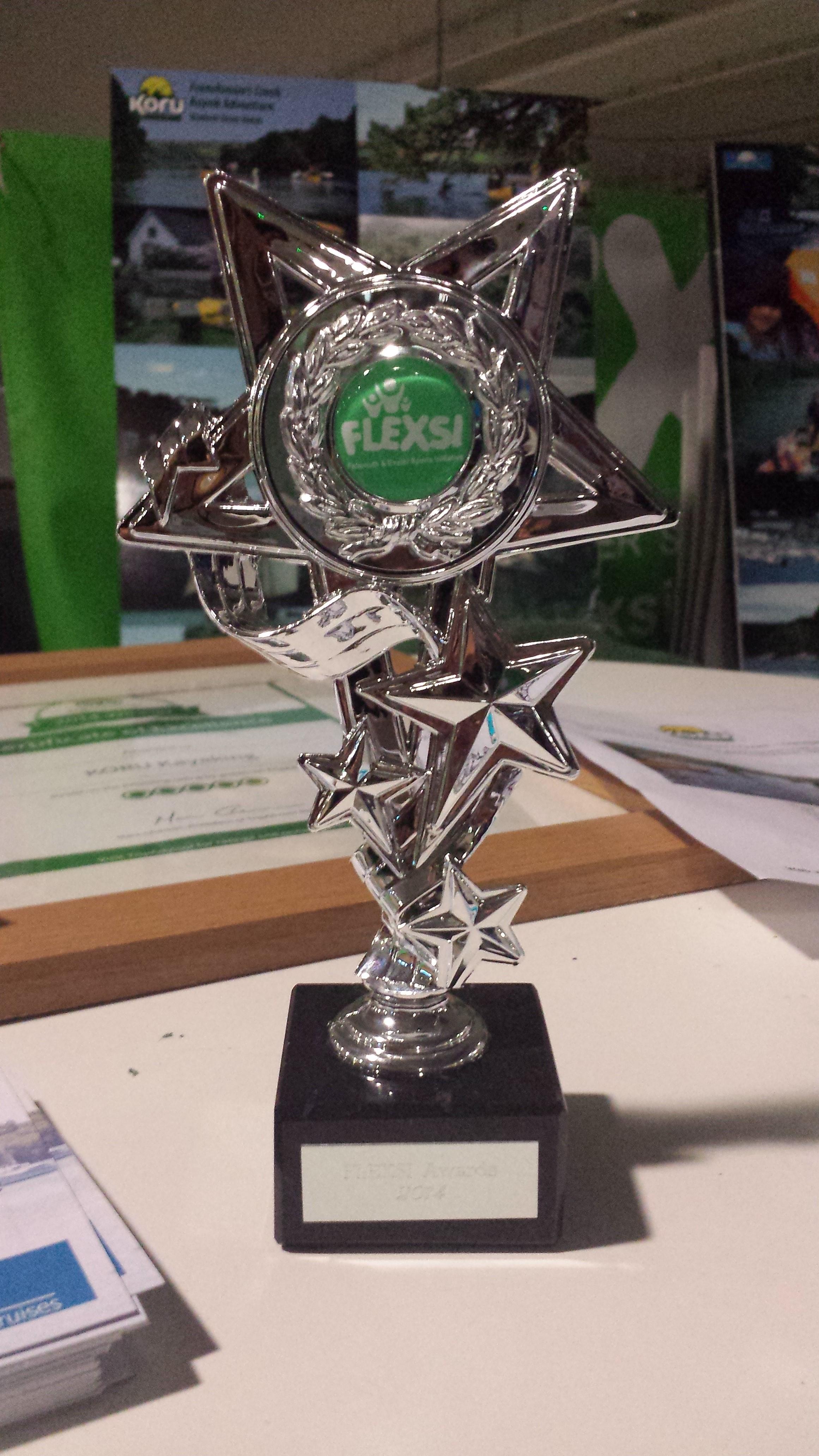 Flexsi Award, Koru Kayaking, University of Exeter