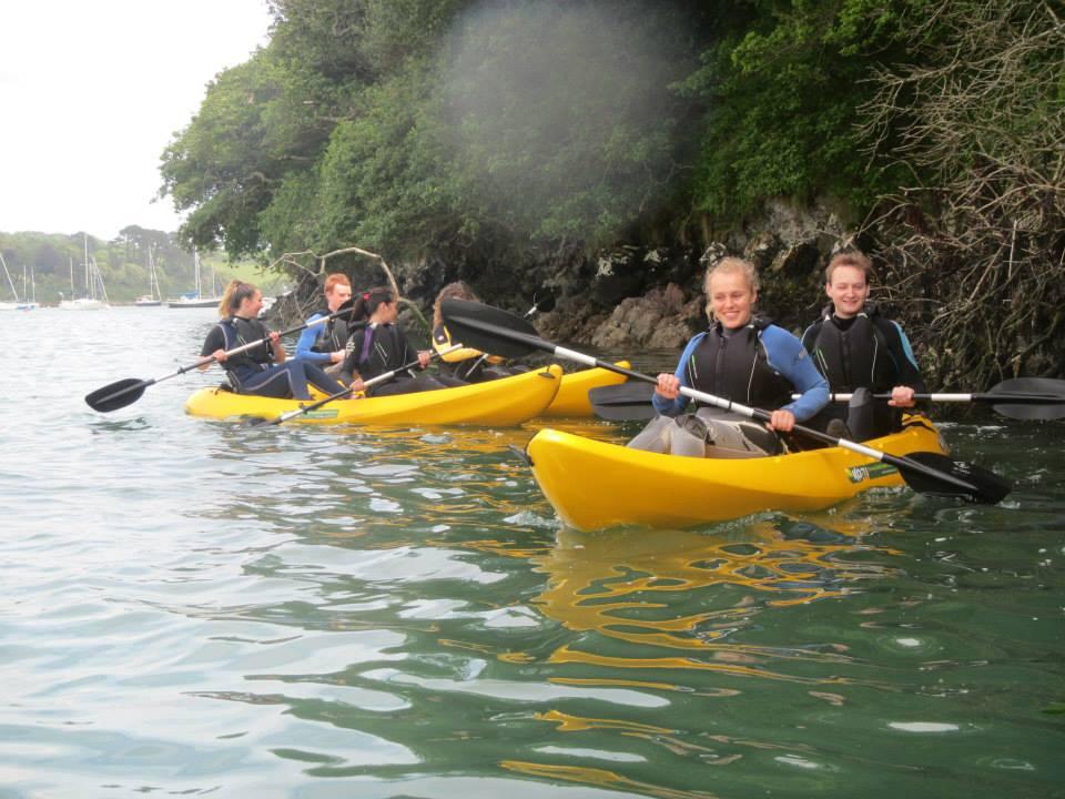 University of Exeter Students, Koru Kayaking