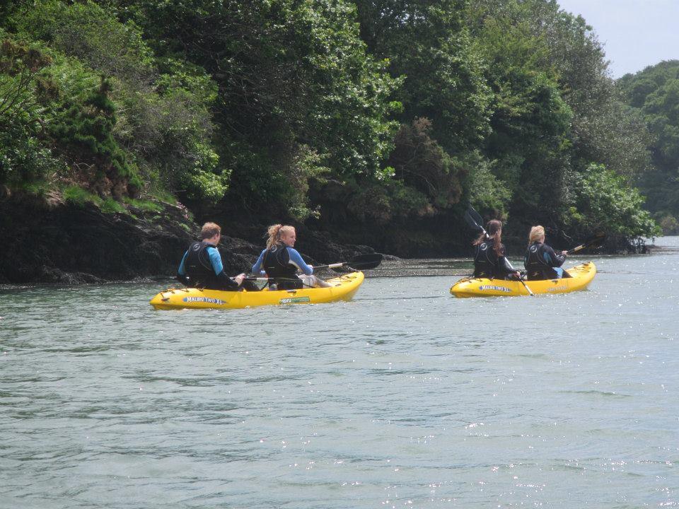 students kayaking 3