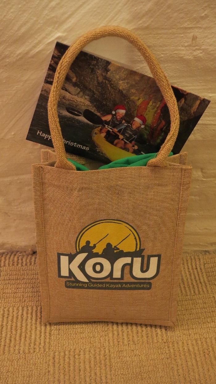 Christmas Gift Bag filled!