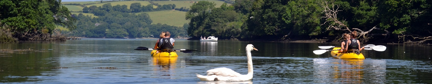 Koru Kayaking Cornwall Header