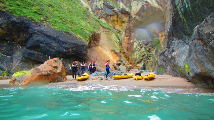beach, koru kayaking, St Agnes, Cornwall