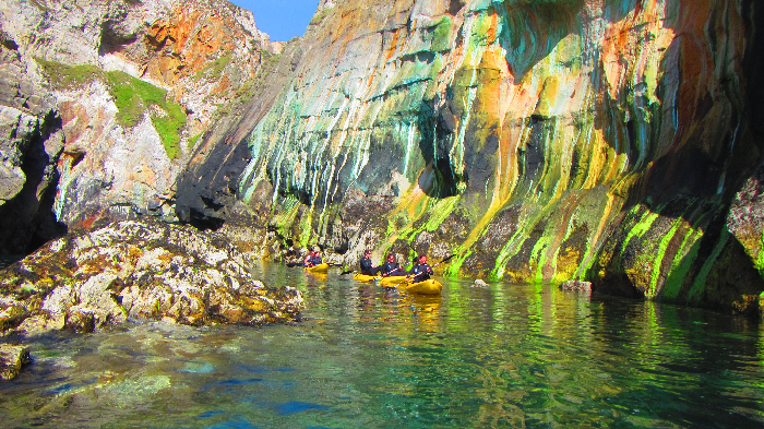 copper, koru kayaking, st agnes, cornwall
