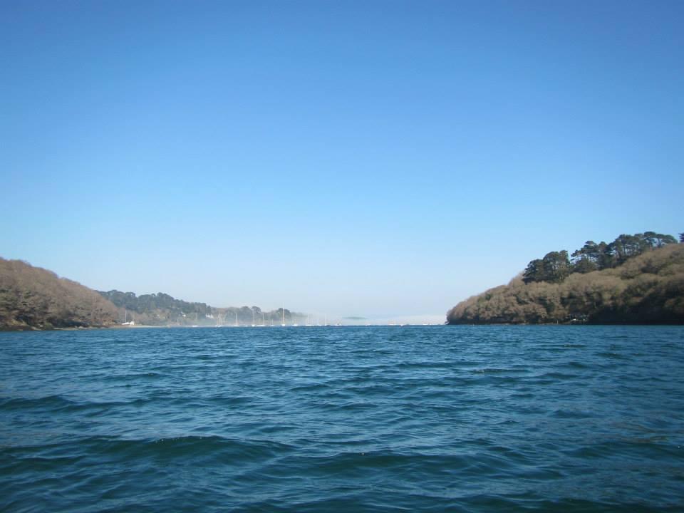 sea mist, Helford River, Frenchman's Creek, Koru Kayaking