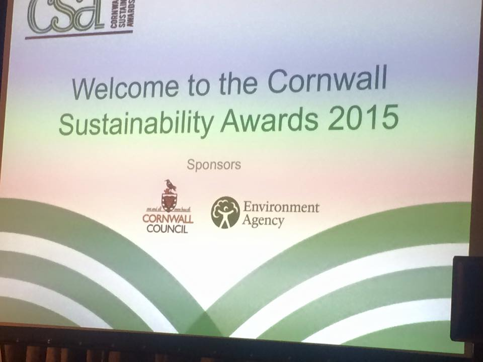 Cornwall Sustainability Awards, 4th December 2015