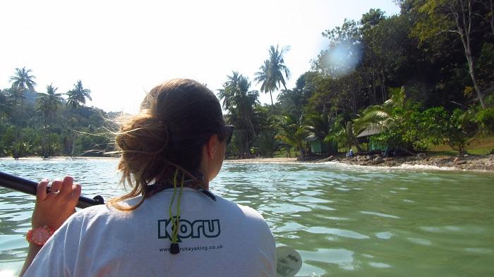 Kayaking mangroves Koh Kood