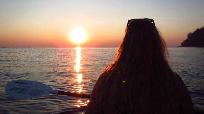 sunset kayaking koh kood