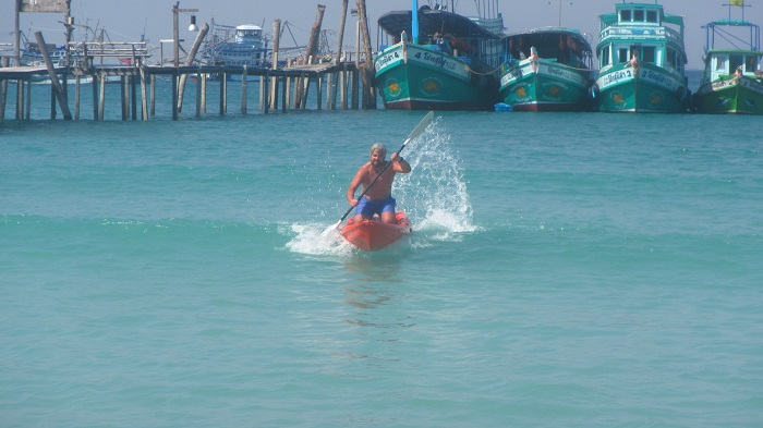surf kayaking Koh Kood