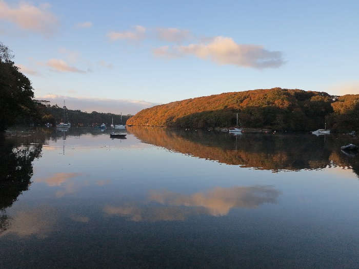 Autumnal colours and reflections
