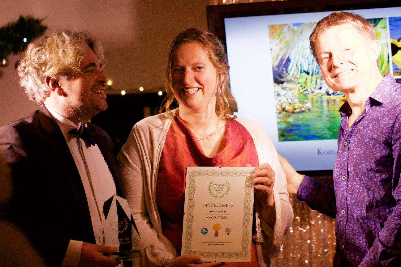 Gold Best Business, St Agnes Business Awards