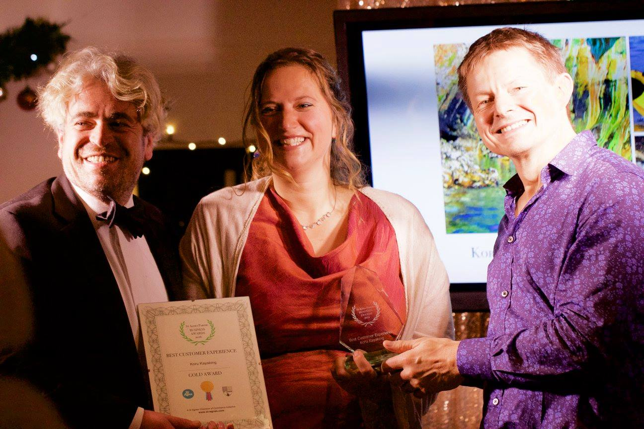 Gold Best Customer Experience, St Agnes Business Awards