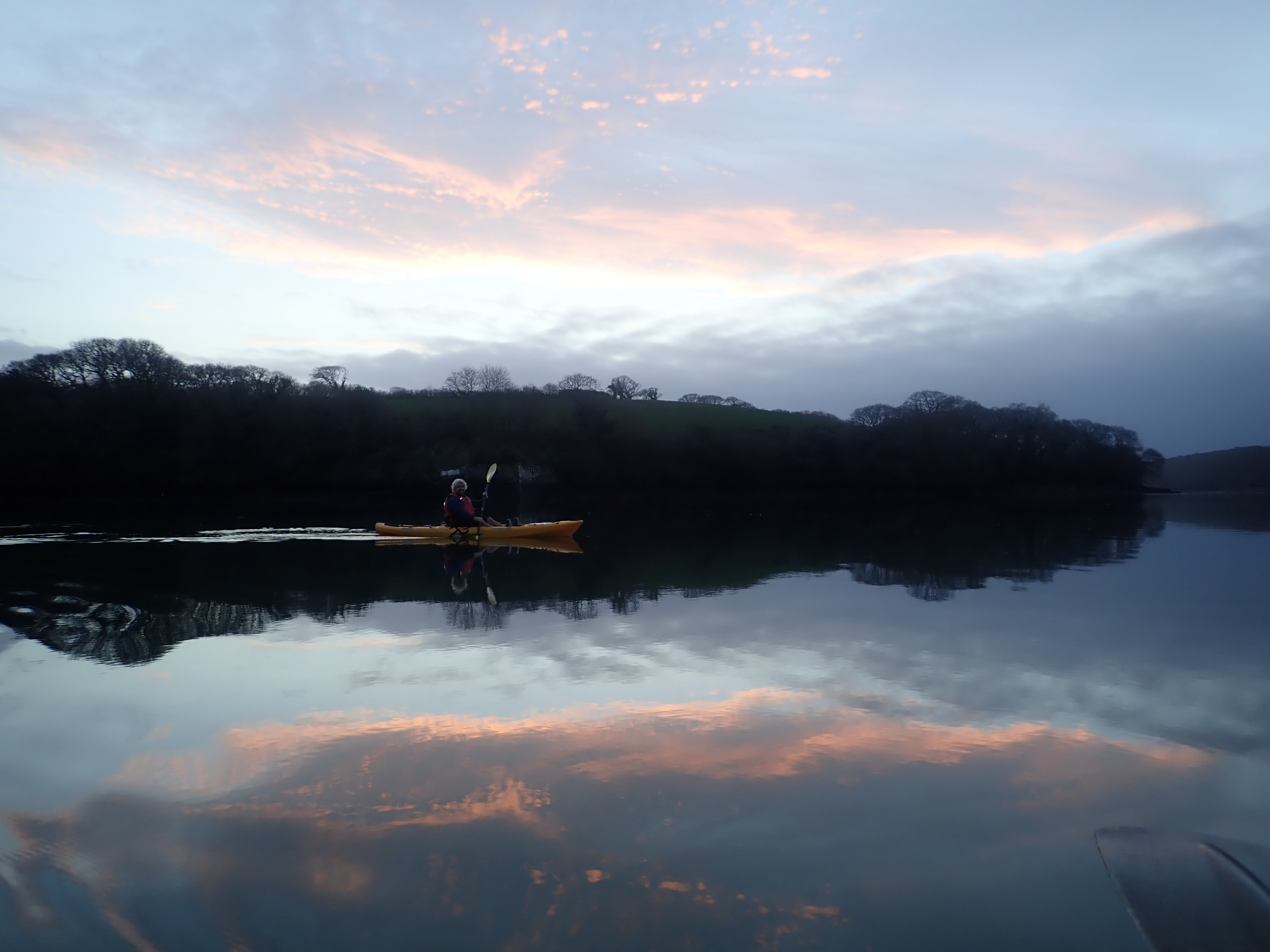 Winter Kayak Adventures and Sunsets!