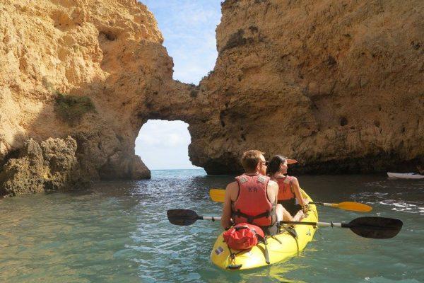 kayaking, portgual, lagos