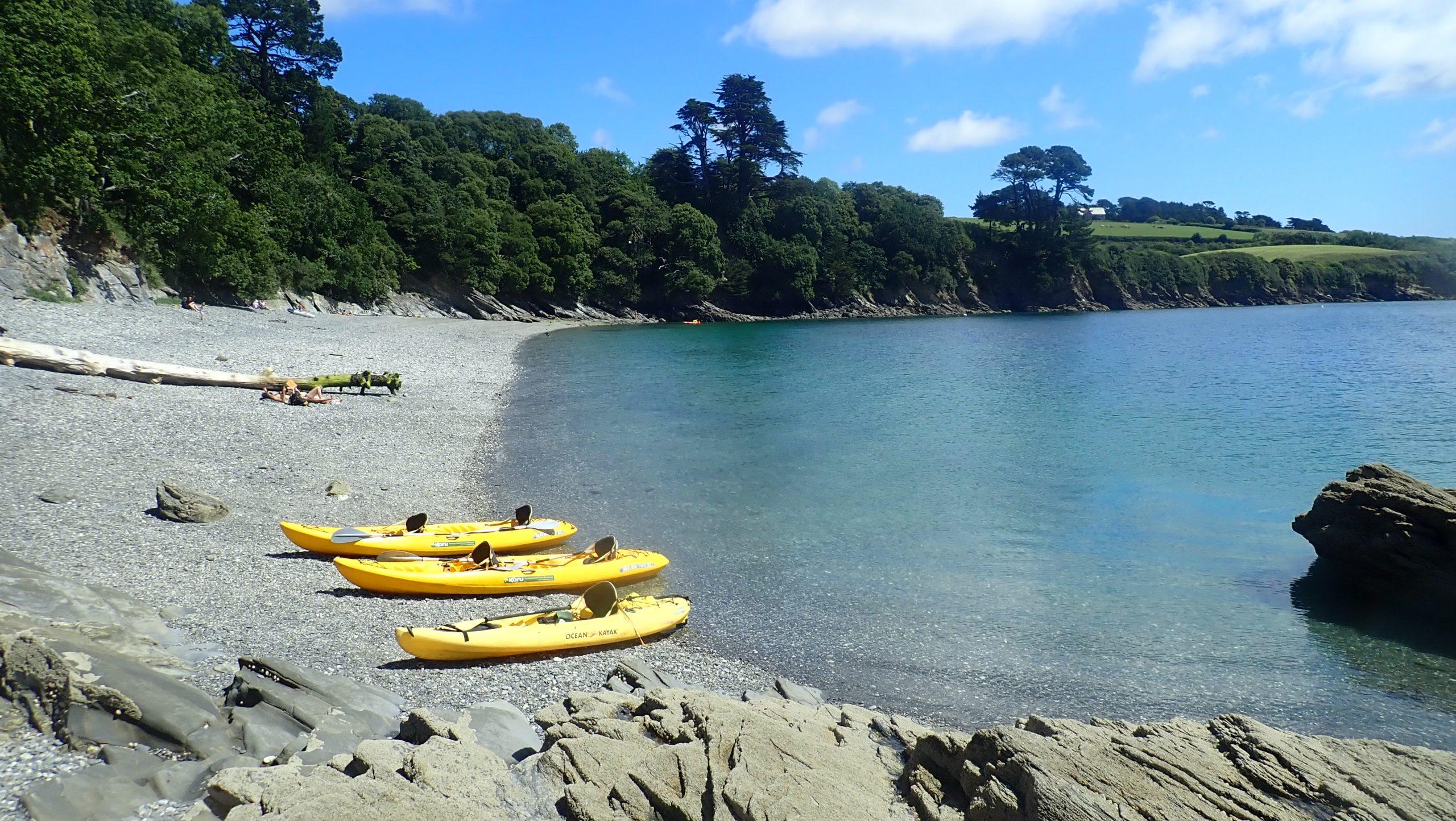 The Helford Koru Kayak Adventure