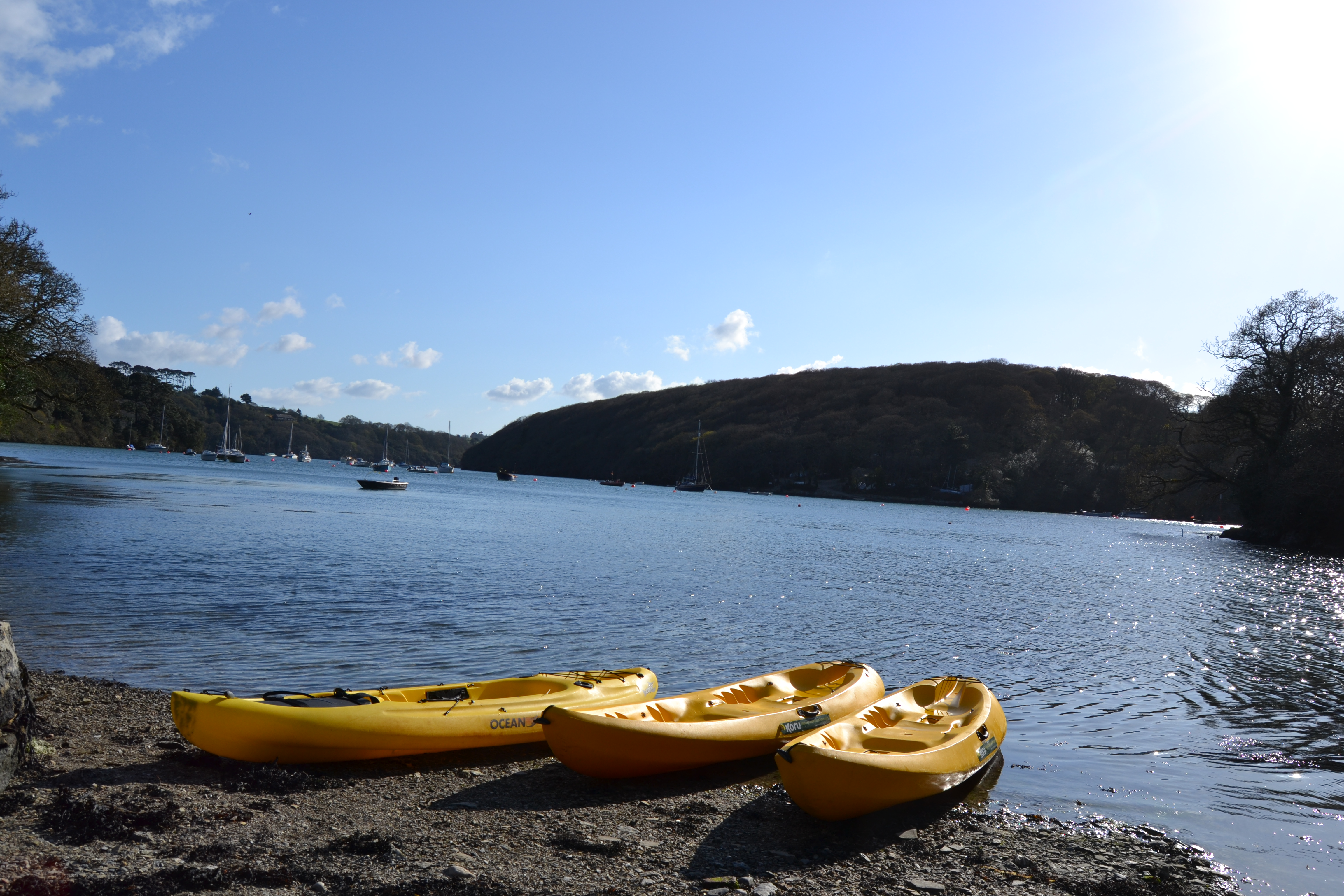 The Cornwall Guide comes on a Frenchmans Creek Adventure