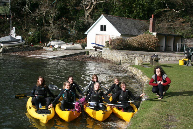 Hen Do enjoy our Frenchman's Creek Kayak Adventure