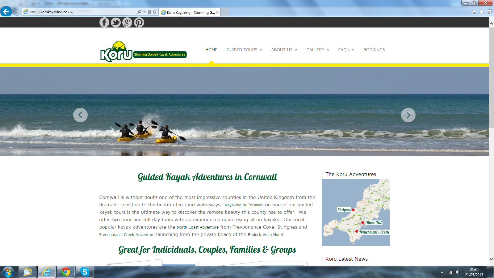 Koru launches new website