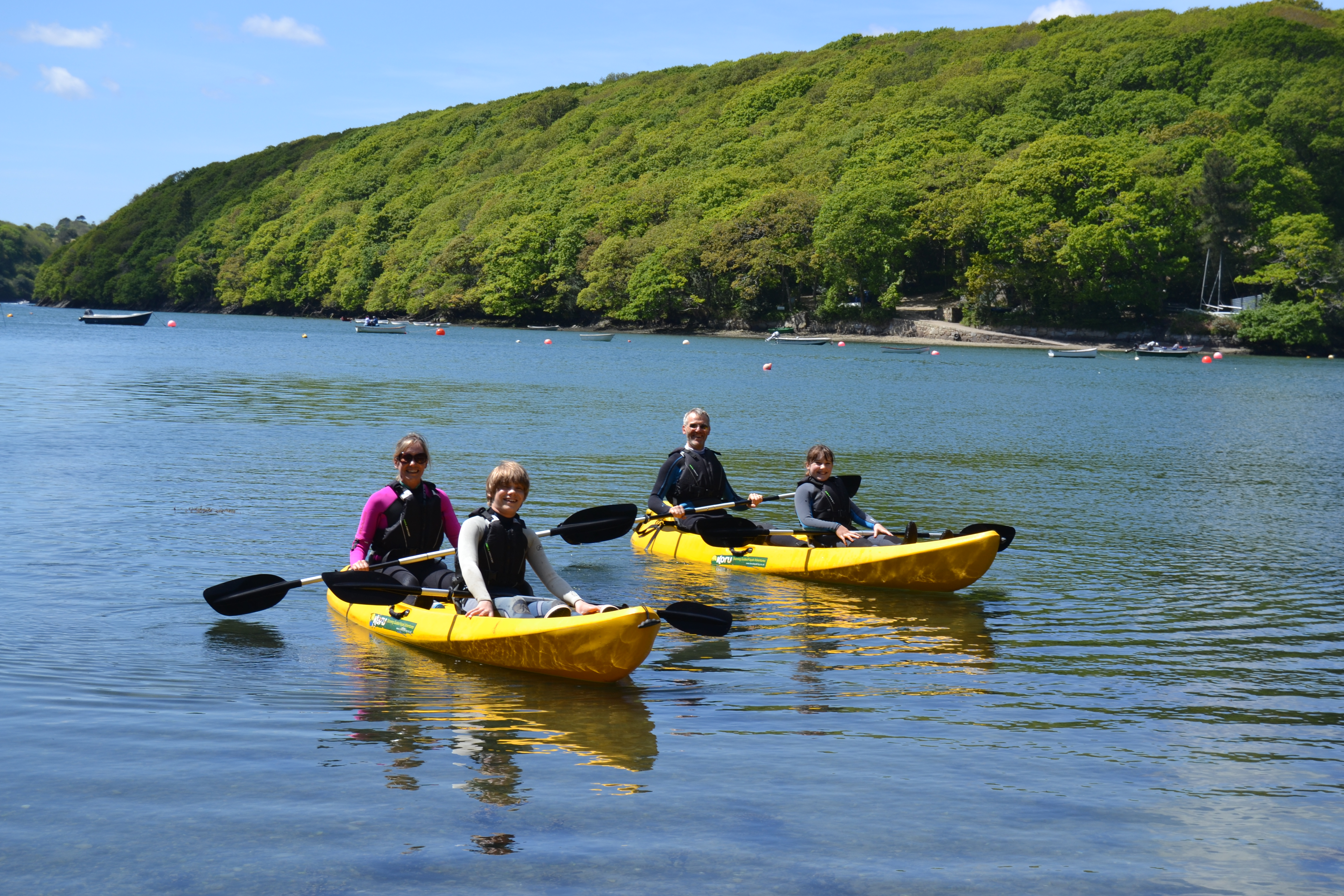 """Treat your dad to a kayak adventure for """"Fathers Day"""""""