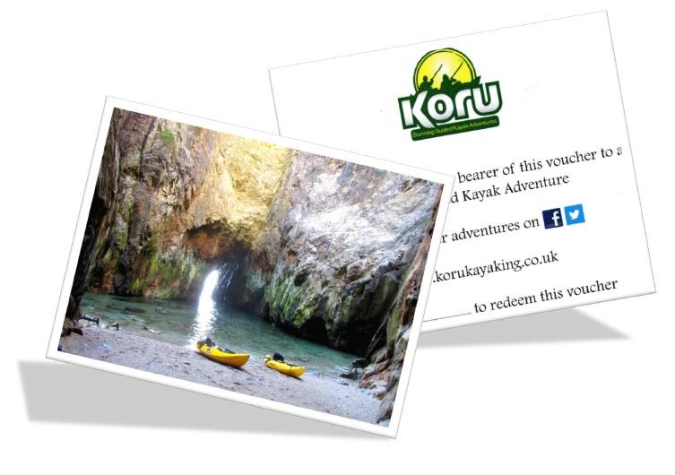 New Koru Kayaking Adventure Gift Vouchers