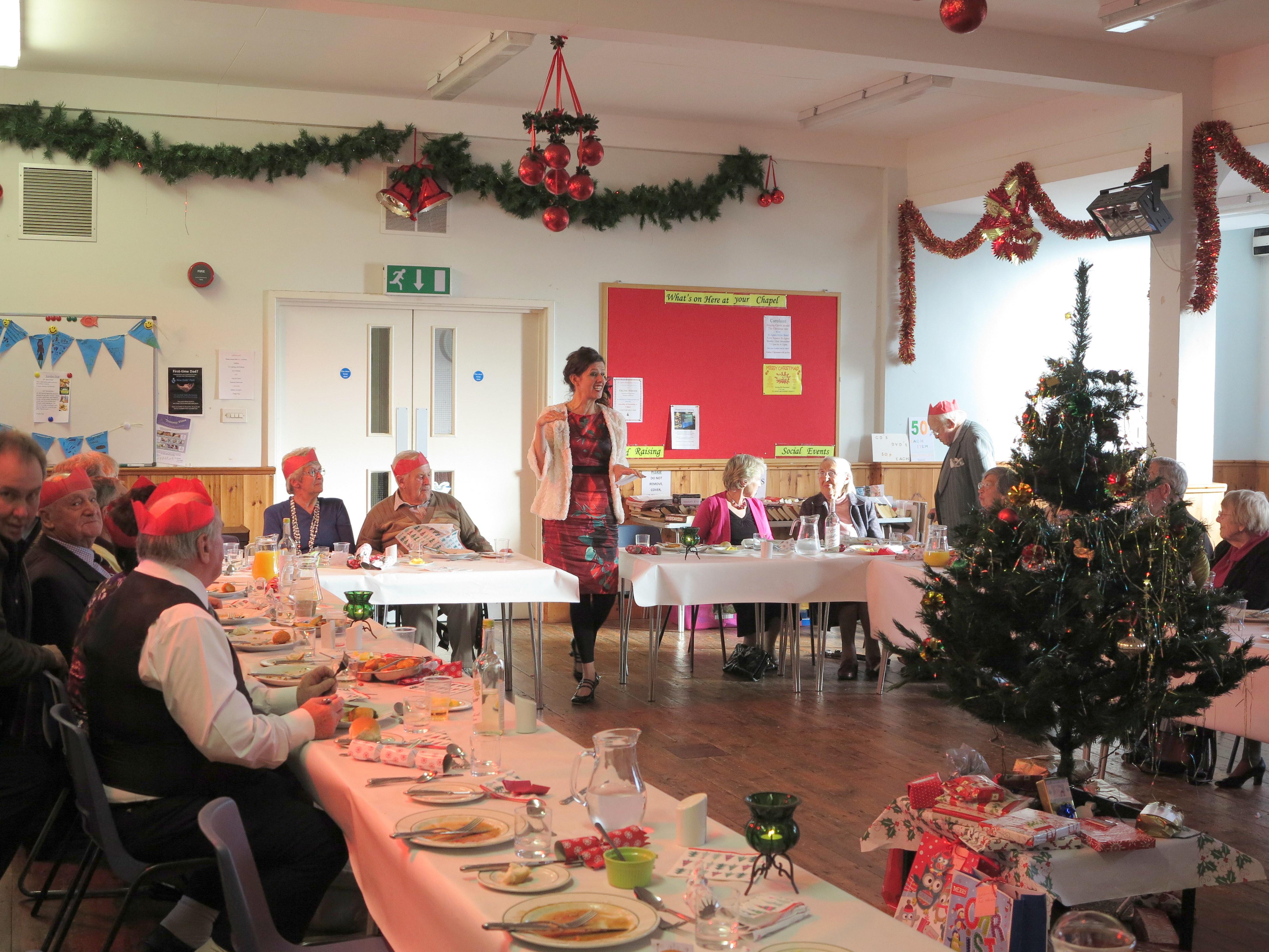 Koru Kayaking help organise a Christmas Party for War Veterans