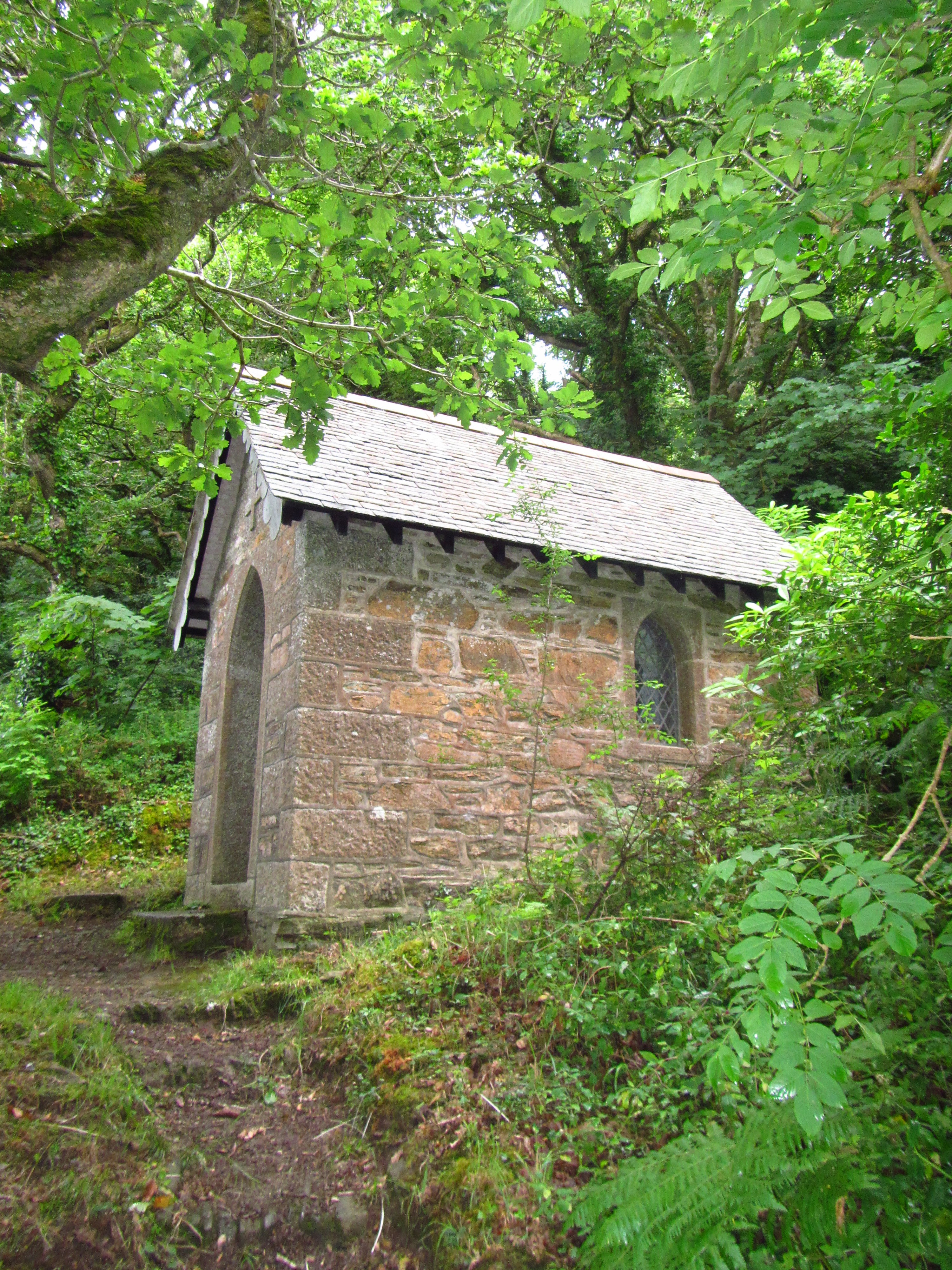Hidden chapel discovered on Helford River