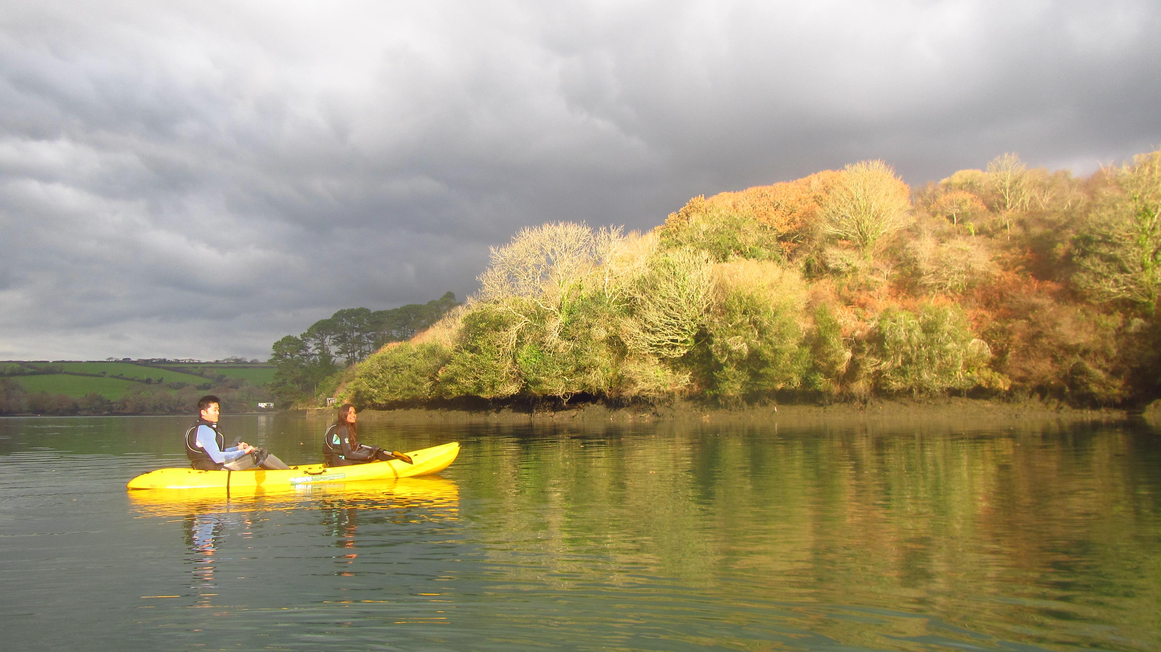 Kayaking along Frenchman's Creek Video
