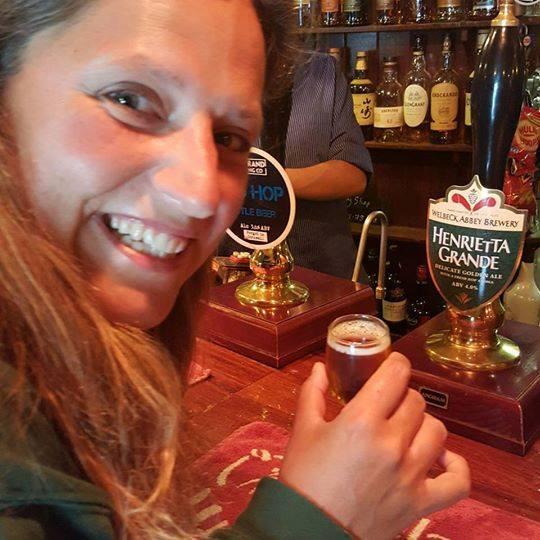 The West Briton – Henrietta: 'A pint of me please!'
