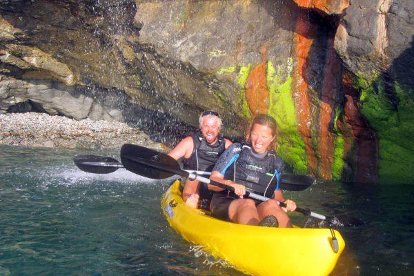 Happy Couple, Koru Kayaking