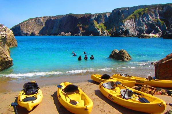 1. January - Moored up Wheal Pruduence Beach, St Agnes Coastline, Cornwall