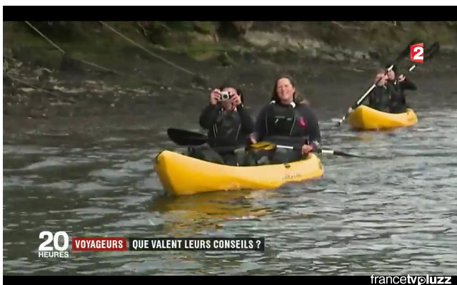 Koru Kayaking make it onto French National News