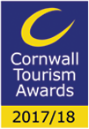 We're finalists in Cornwall Tourism Awards