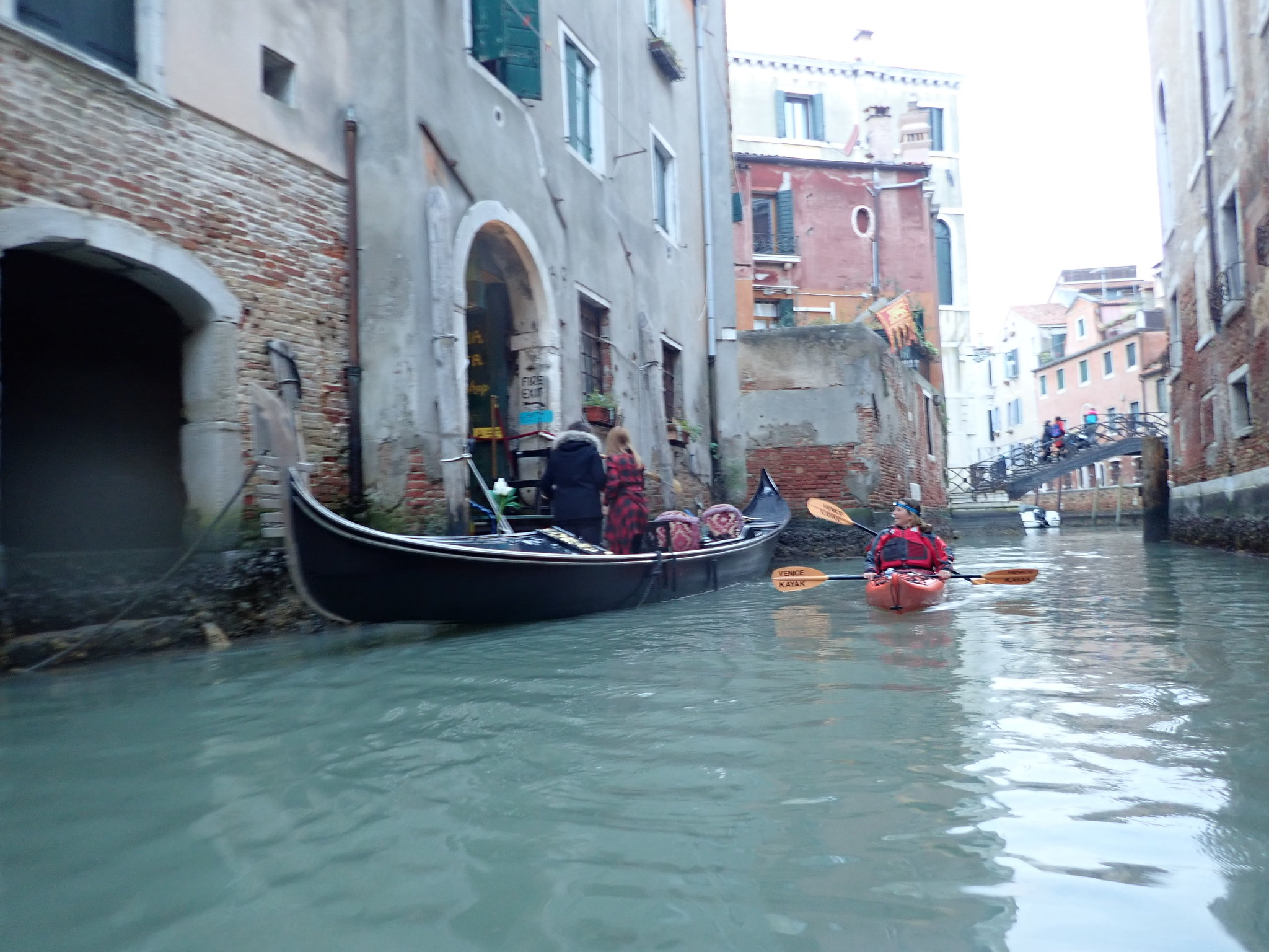 Koru kayak in Venice